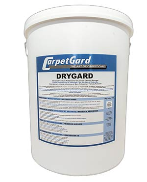 Drygard dry carpet cleaning powder